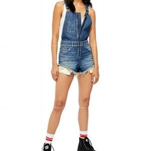 🆕Free People Short Overalls